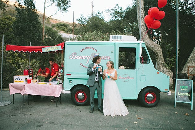 Wedding Food Trucks Laura Goldenberg Photography