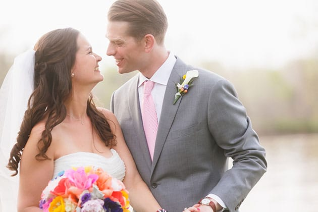 Bright Backyard Virginia Wedding Don Mears Photography
