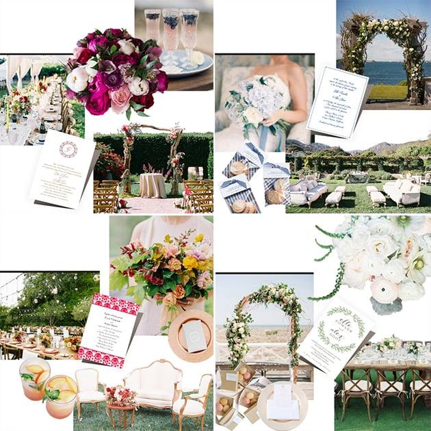 brides live wedding decor