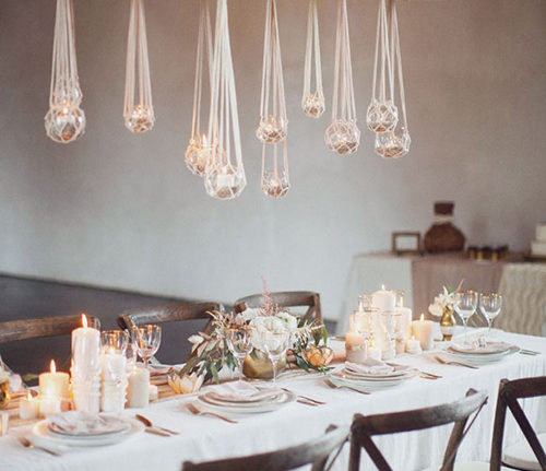 minimalist wedding with major wow factor tips