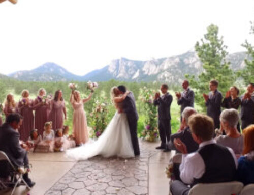 Ryan & Whitney wedding – Estes Park, Colorado