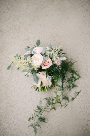 Elegant Blush and Champagne Wedding