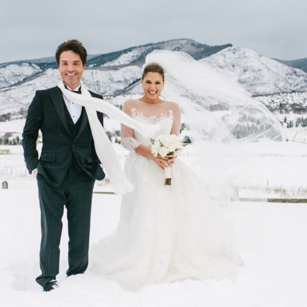 Daisy Fuentes Just Married Singer Richard Marx! See the Gorgeous Photos of Their Winter Wonderland Wedding