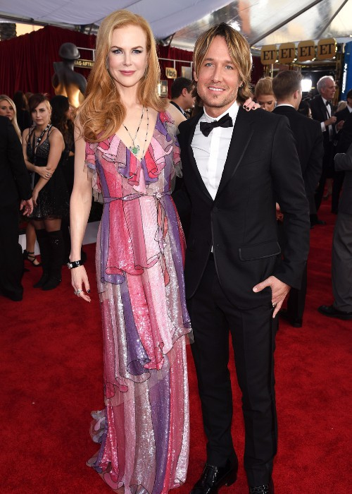 Nicole Kidman and Keith Urban Dole Out Marriage Advice on the SAG Awards Red Carpet