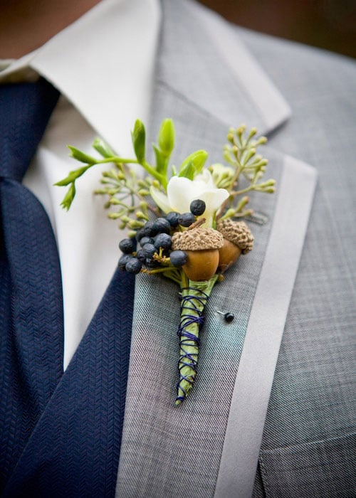 alternative boutonniere ideas