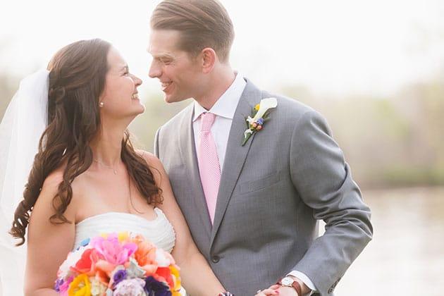 Bright Backyard Virginia Wedding Don Mears Photography