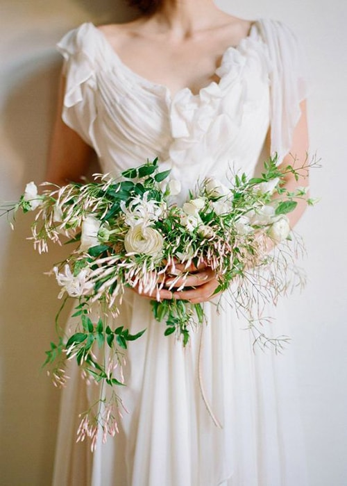 jasmine bridal bouquet