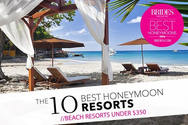 honeymoon beach resorts under
