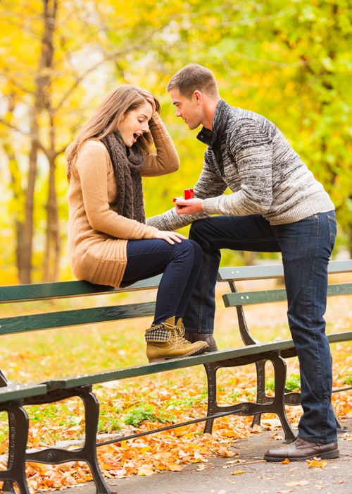 'Why I First Rejected His Proposal'