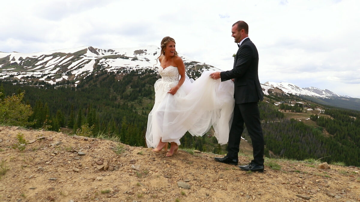 Ten Mile Station, Breckenridge CO - Kaitlin & Justin's wedding video